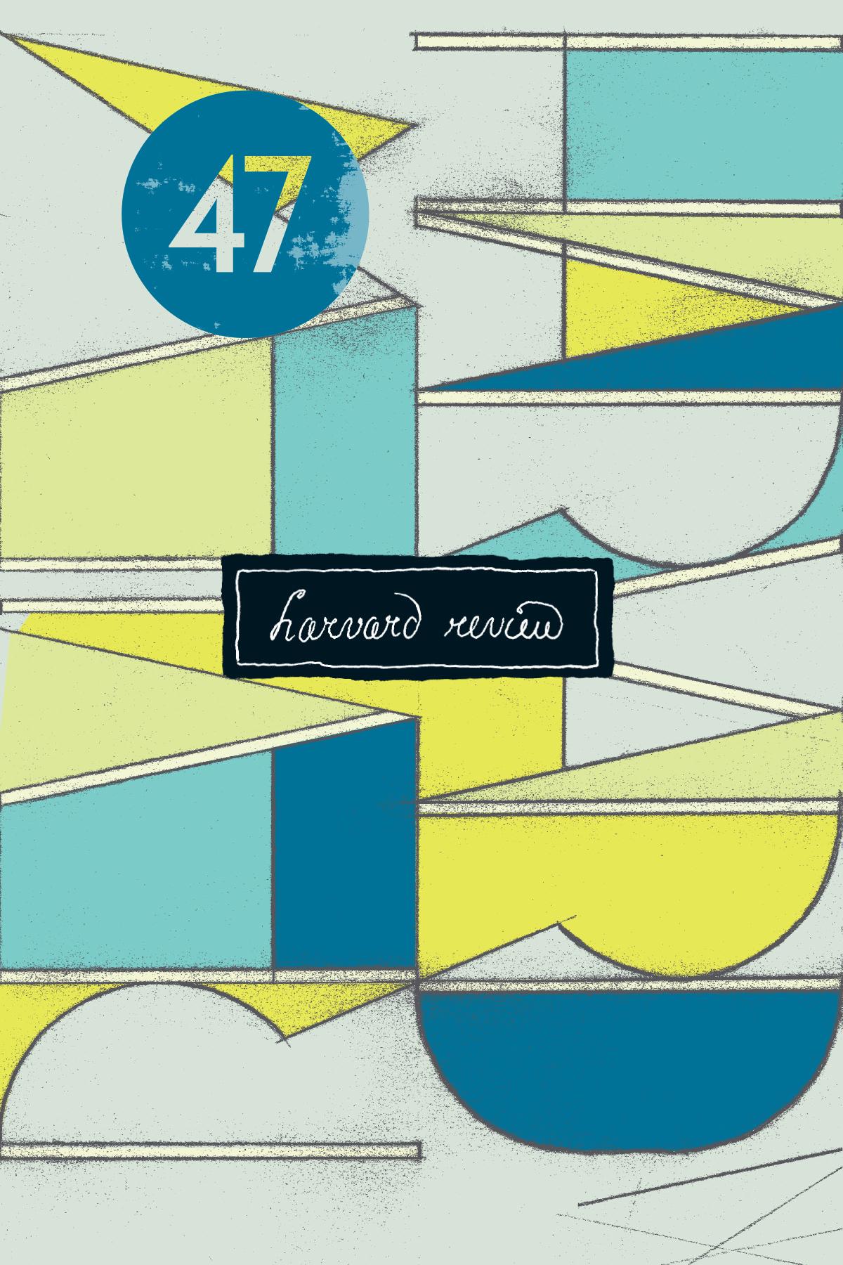 Harvard Review 47 Cover